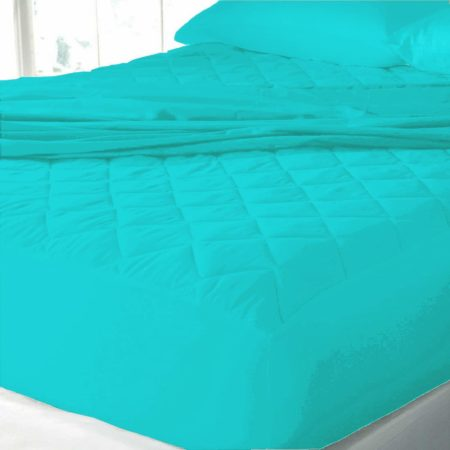 Mattress-protector-TURQUOISE