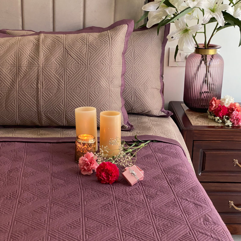 cubist bedspread